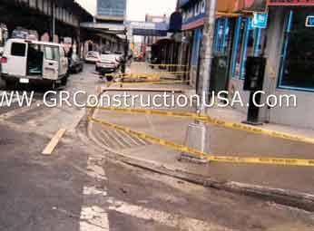 Concrete And Sidewalk Contractor Manhattan