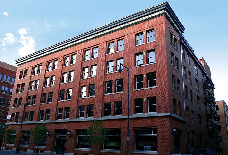 Commercial Building Cornice Repair