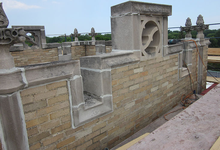 Stone Repair Renovation For Church